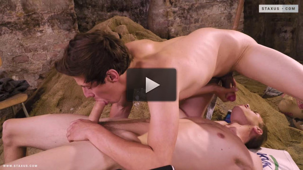 Dreamin' Blond Builder Gets His Cute Arse Hammered & Gaped!