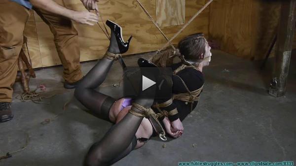 Terra's Legs Spread tie (slave, download, watch)!