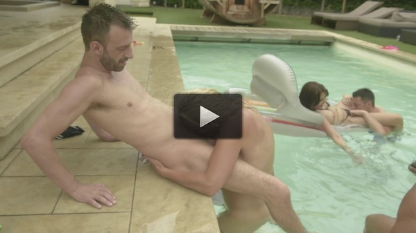 Summer Sex Party — One Cock Is Not Enough!