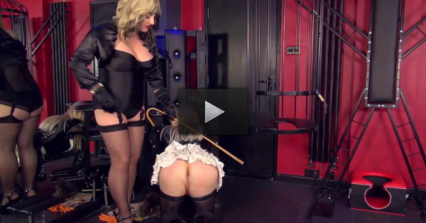 Chastised And Caged Maid Part 1
