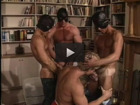 Retro Orgy With Buttbusters