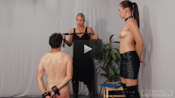 Anette & Zita - Punishment In stitutionX part 2 - online, tied, women, gets