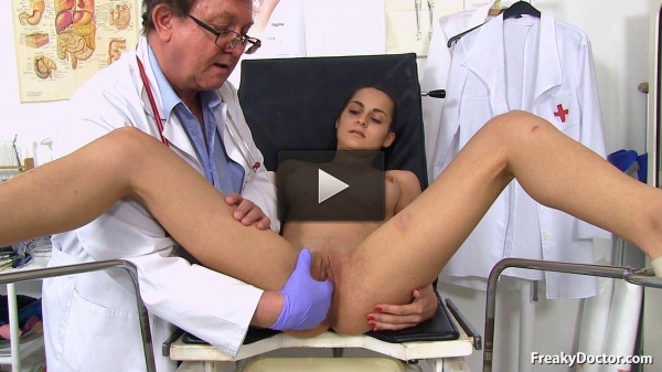 19 years Girls Gyno Exam — Ashley Woods — Full HD 1080p