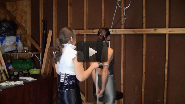 Madalynn Raye and Elizabeth Andrews — Six Inch Heeled Posture Training