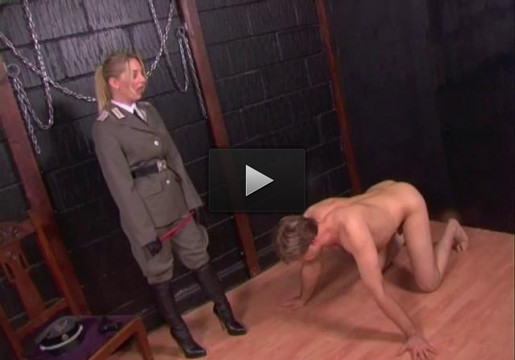 Life At Her Boots (strap on, tit, online, stud, punishment)