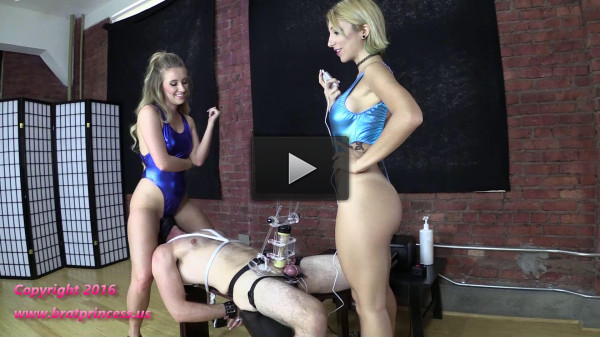 Tens Limit Tested While Facesat And Milked...