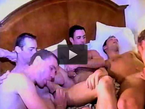 Very Hot Hotel Room Orgy