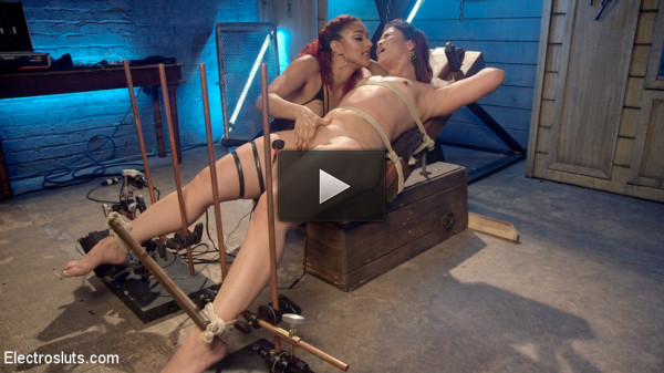 The Lesbian Electro Initiation of an Athletic Slut!.