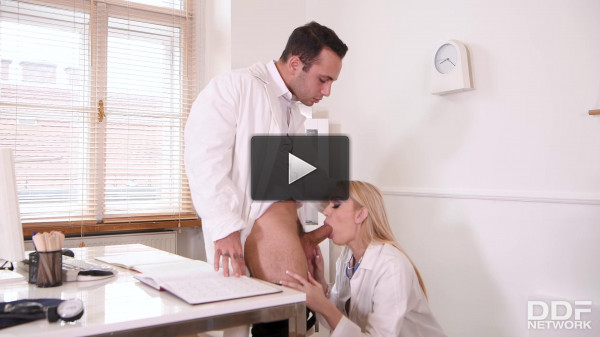 Amber Jayne — Hot Nurse Needs Doc's Dick