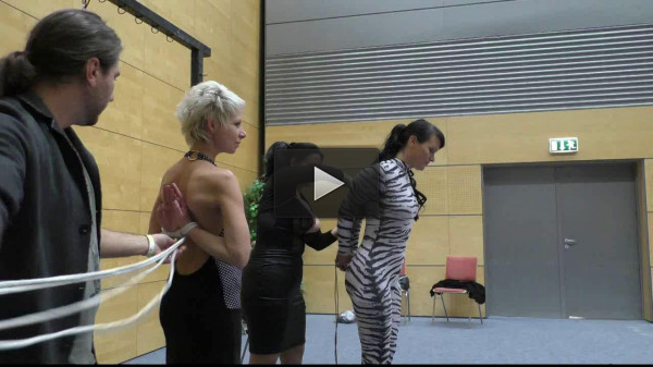 Together with Lena King at BoundCon in Vienna — Part 1