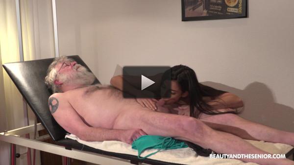 Angela Allison — Beauty and old man (2018)