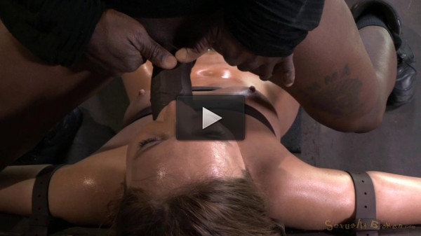 shy red tit deepthroat (Maddy O'Reilly gets restrained and throatboarded by 2 huge cocks, brutal challenging deepthroat!).