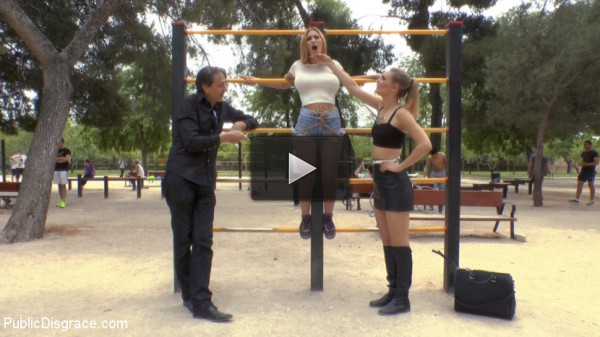 Two Slutty Losers Get Mind Fucked by Mona Wales and Juliette March