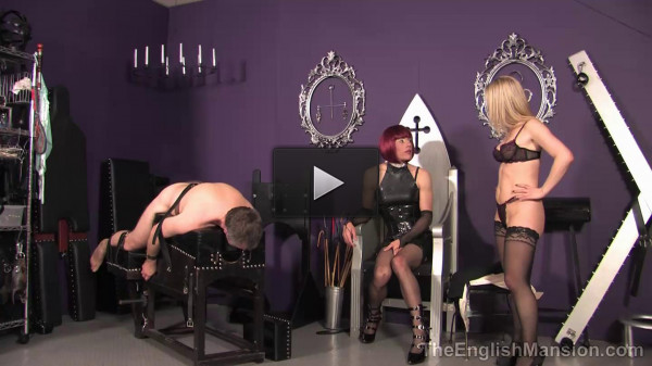 The English Mansion - Desperate Housewife Pt2 - Domination HD - little, balls, very, floor, man