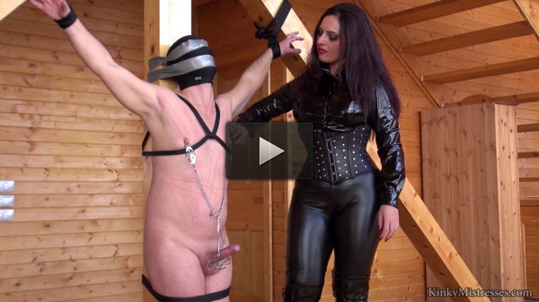 Mistress Ezada Sinn (cock, trans, punish, stretch)