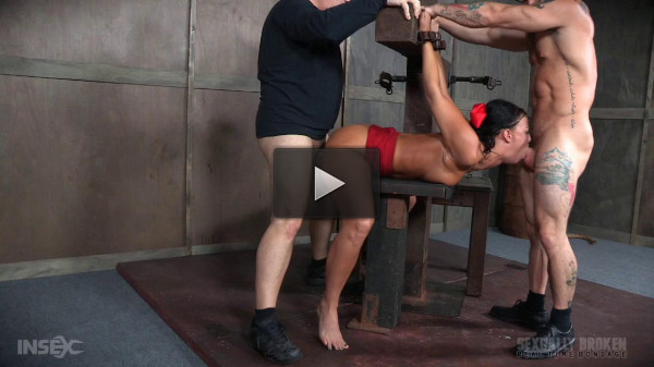 London River Struggles In Bondage While Being Fucked - fucked, watch, english, vid
