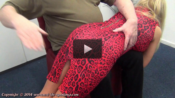 Real life spankings - Esther's first spanking (panties, tit, old, during, naughty)