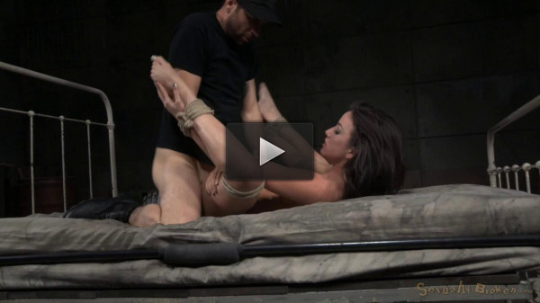 Tightly tied brunette Jennifer White