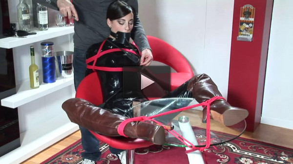 Super bondage, domination and torture for very beautiful young bitch