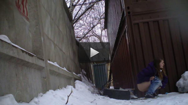 Pissing behind the garage (2012)