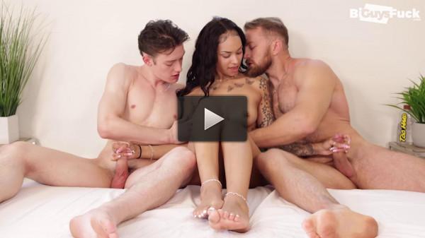 Hot 3some Bryce Beckett, Kingsley Kross & Ivy Steele 1080p
