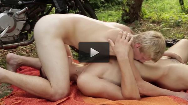 Bareback Loverboys — Chris Hollander, Ennio Guardi, Benjamin Dunn