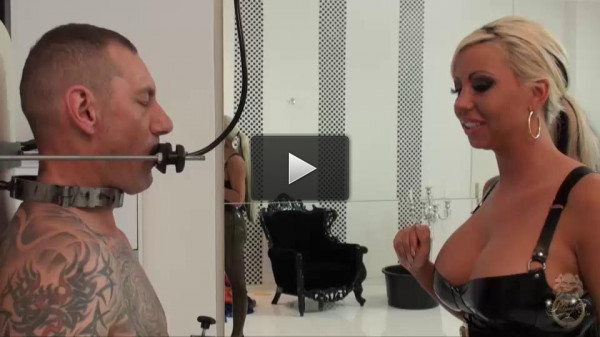 German mistress Lady Kate, amazing extreme domination action. Enjoy!