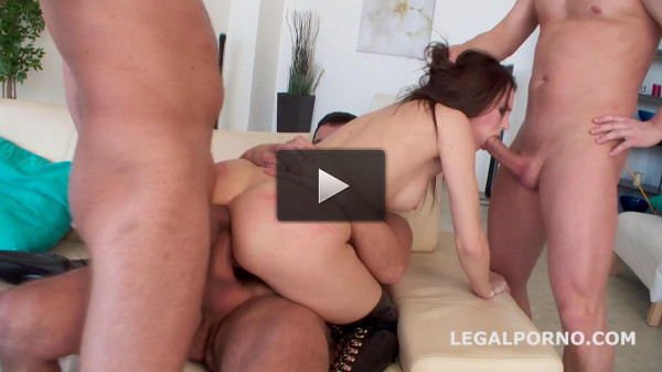 Sexy Babe Timea Bela Gangbanged By 4 Boys With Tap
