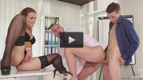 fucking mirror english - (Alexis Crystal, Thomas B and Ryan Cage)