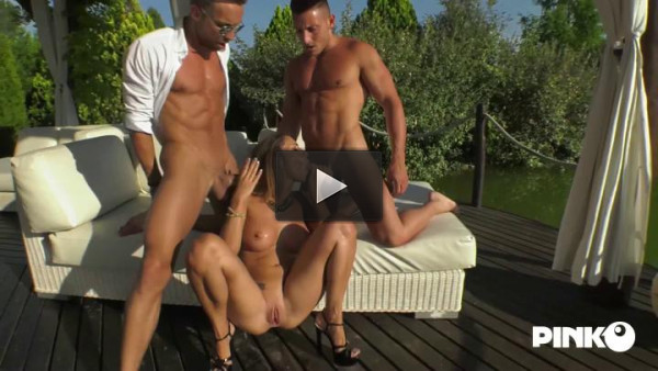 The Insatiable Slut Takes A Cock In The Ass And One In Pussy!