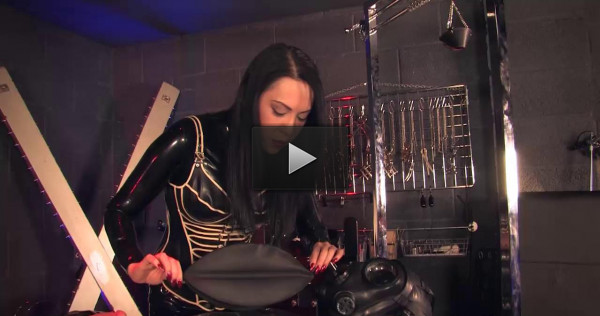 domina slave lady - (Rubber Bondage Supremacy)